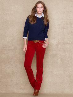 Halstead Corduroy Pant - Pants  Pants & Shorts - RalphLauren.com