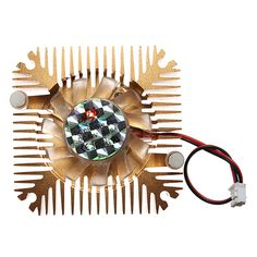 New Arrival12V 0.1A Heatsink CPU Cooling Fan PC Computer 2 Pins 55x55x11mm Hight Quality