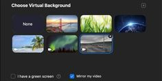 How To Use A Custom Background With Zoom Make Tech Easier Green Screen Setup Mac Tutorial Custom