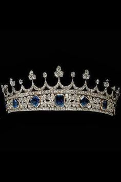 Queen Victoria's tiara designed by Prince Albert.