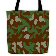 OPSGEAR® Italy 1929 Summer Camo All-Over Tote 15 x 15 (Both Sides)