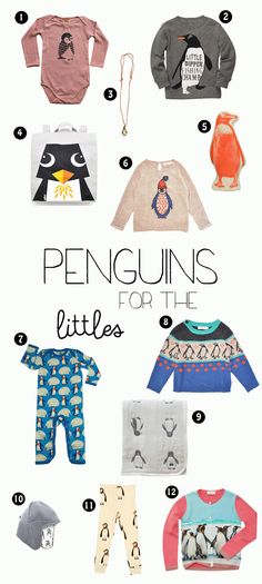 Penguins >> For the Littles
