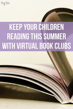 This summer as the days roll by, try to incorporate virtual book clubs to help foster a love for reading in a fun, engaging way! Book Clubs, Book Club Books, Books To Read, Book Lists, Reading Programs For Kids, Summer Reading Program, Online Books For Kids, Online Book Club, Reading Club