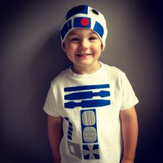 R2D2 Toddler Costume - Star Wars Baby Clothes. $48.00, via Etsy.