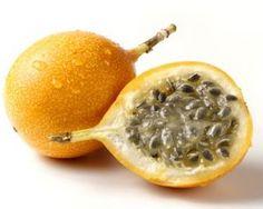 Granadilla, exotic and delicate delicious fruit.
