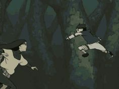 Orochimaru vs. Sasuke