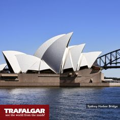 It's Sydney Harbour. The bridge was to be opened by the Royal Family, however a political group beat them to it, slashing the ribbon with a sword. Experience the splendor of this structure on our Contrasts of Australia itinerary: http://www.trafalgar.com/contrasts-of-australia-2014