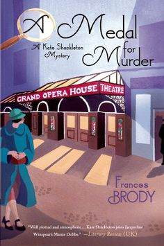 A Medal for Murder (A Kate Shackleton Mystery) by Frances Brody http://www.amazon.com/dp/1250042712/ref=cm_sw_r_pi_dp_6TIEub1FXWFDN