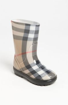 Burberry 'Frogrise' Boot (Walker, Toddler, Little Kid & Big Kid) available at #Nordstrom