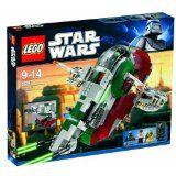 Brand New Lego Star Wars Slave 1 8097 includes Boba Fett & Han Solo Carbonite Lego Star Wars, Star Wars Set, Star Wars Toys, Slave 1 Lego, Boba Fett, General Grievous Lego, Star Wars Episode 4, Cuadros Star Wars, All Lego