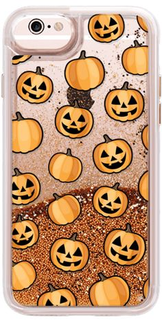 Casetify iPhone 7 Snap Case - HALLOWEEN PUMPKINS by Katie Reed #Casetify