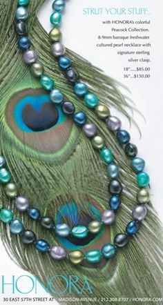 Honora Pearls in Peacock. I love these pearls and wear them all the time!