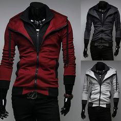 Assasin's Creed Inspired Hoodie: Release the hidden assassin within you.