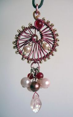 Pink Parasol Whimsical Necklace -- Inspired by Firefly | Shealynns-Faerie-Shoppe - Jewelry on ArtFire