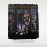 Sexy Sci-Fi Shower Curtain