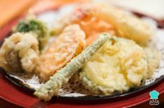 Photo about Delicious Japanese vegetable tempura - deep fried, breaded vegetables. Image of deep, yummy, health - 498838 Gf Recipes, Cooking Recipes, Party Recipes, Free Recipes, How To Make Batter, Vegan Vegetarian, Vegetarian Recipes, Tempura Batter, Good Food