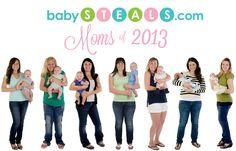 Meet the babySTEALS.com Moms of 2013!
