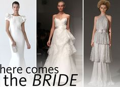 versace gowns new york fashion week | Wedding Dresses from 2012 Autumn Winter New York Bridal Fashion Week ...