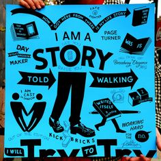 Story Told Walking Print by Steve Powers, $450.00