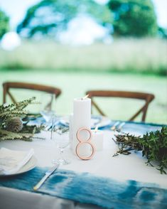 There's just something about candle wedding centerpieces: They're timeless and classic but can easily be revamped to fit any big-day style. Candle Wedding Centerpieces, Wedding Decorations, Table Decorations, Wedding Reception Tables, Martha Stewart Weddings, Celebrity Weddings, Light Up, Perfect Wedding, Tea Lights