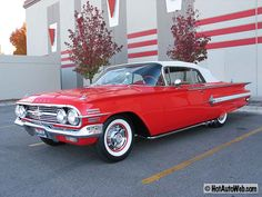 1960 Chevrolet Impala Convertible***Research for possible future project.