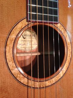 Kinnaird FS (Western Red Cedar/Jaguar Mahogany) with Birdseye Maple rosette and Purpleheart binding