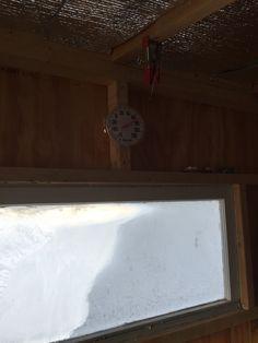 Ice fishing shanty on pinterest ice fishing ice shanty for Fish house heater
