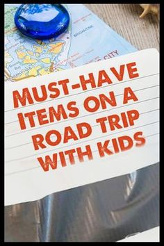 Must have items on a road trip with kids