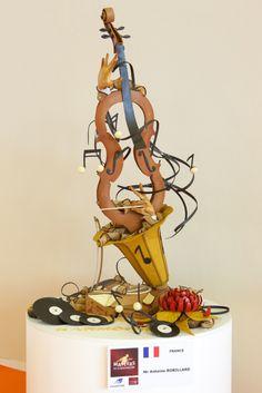 2014 BAKERY MASTERS – ANTOINE ROBILLARD (FRANCE), 2014 MASTER BAKER, ARTISTIC PIECE - On a 1m2 surface area candidates must create a figurative work, with no mechanical artifice, that represents their country of origin. / Sur une surface d'1 m2, les candidats doivent composer une oeuvre figurative, sans aucun artifice mécanique et à l'image de leur pays d'origine. #BakeryLesaffreCup - www.coupelouislesaffre.com