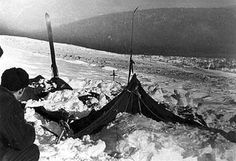 Nine experienced ski hikers died in a mysterious event while traveling to a mountain named Otorten.Their bodies were found on February 26 around their badly damaged tents, which had been cut open from inside. Most of them had fled in socks or bare feet in a temperature of -22 °F (-30 °C). Two hikers had broken ribs, two had fractured skulls, and one was missing her tongue. Two pairs of pants and a sweater were found to be extremely radioactive, and the corpses' skin had a deep brown tan.
