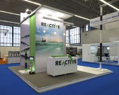 Reactive Downhole Tools Exhibition Stand www.nimlok.co.uk