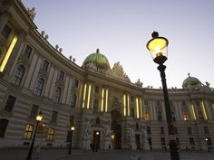 The Hofburg Palace - Vienna, Austria - where I saw the magnificent Habsburg Crown Jewels!