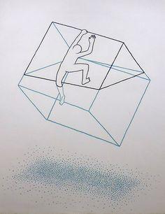 Atelierhof Kreuzberg by Daan Botlek, via Behance #illustration #painting