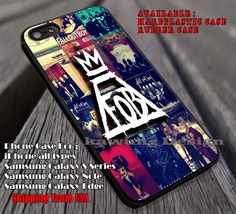 logo band, FOB, fall out boy, case/cover for iPhone 4/4s/5/5c/6/6 /6s/6s  Samsung Galaxy S4/S5/S6/Edge/Edge  NOTE 3/4/5 #music #fob ii