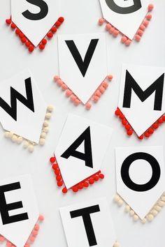 DIY: Holiday Pom-Pom Garland | DIY | decor | holiday | make | create | ideas | crafts | fun | Schomp Honda