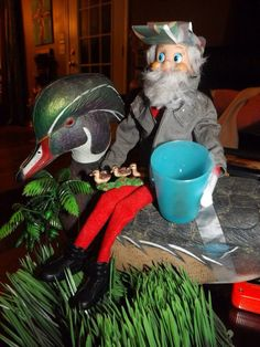 Elf On The Shelf Phil Robertson And Shelves On Pinterest