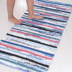 Free Crochet, Knit Crochet, Handicraft, Stuff To Do, Diy And Crafts, Crochet Patterns, Knitting, Handmade, Rag Rugs
