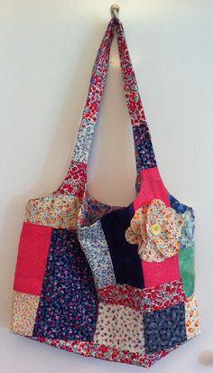 Patchwork bag (great tips)
