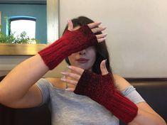 Fingerless Gloves, Knit Fingerless gloves, Arm warmers, Womens Fingerless, Mittens, Winter gloves, Winter Accessories, Boho Gloves by BosphorusBeads on Etsy