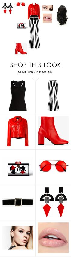 """Casual Outfit"" by helena94-1 on Polyvore featuring Skin, Alice + Olivia, Golden Goose, Balenciaga, Yoanny García, Express, Toolally and polyvorefashion"