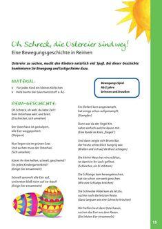 Blick ins Buch activities for kindergarten Easter Craft Activities, Kindergarten Activities, Infant Activities, Easter Crafts, Crafts For Kids, Diy Crafts, Kindergarten Portfolio, About Easter, Easter Party
