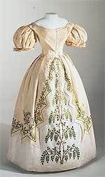"1830 ""Biedermeier"" gown"