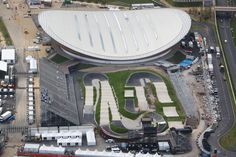 Olympic site - Velodrome and BMX