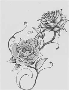 I like this design but wish the roses were a little bit different not as jagged