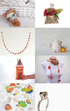Impressions of Fall by Mammabook on Etsy--Pinned with TreasuryPin.com