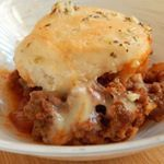 Sloppy joe casserole anyone  easy and yummy  smartpoints per serving recipe on my drizzlemeskinnyapp and my blog under main meals link for blog in bio weightwatchers wwcanada sloppyjoes casserole cooking