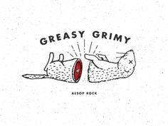 Greasy Grimy Gopher Guts Aesop Rock