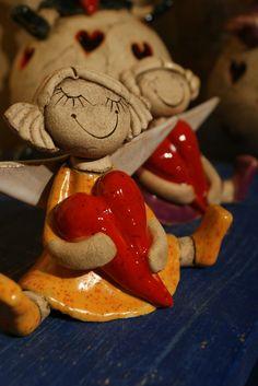 Fantastic Free of Charge Ceramics Projects animals Popular – Porcelain Ceramics, Ceramic Art, Fine Porcelain, Clay Angel, Pottery Angels, Ceramic Angels, Angel Decor, Baking Clay, Creta