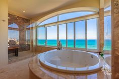 When only the finest is good enough, come home to Isla 33 Luxury Penthouse Villas on Isla Mujeres  #Penthouse #Caribbean #Oceanfront #Rental #ForSale #RealEstateInvestment #IslaMujeres #Isla33 #PearlRealty #Bathroom