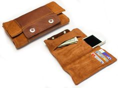 How to Make a Leather Wrap Wallet